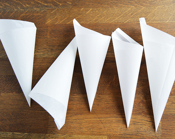 Image result for paper cone""