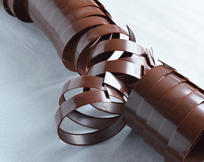 chocolate decor: rings