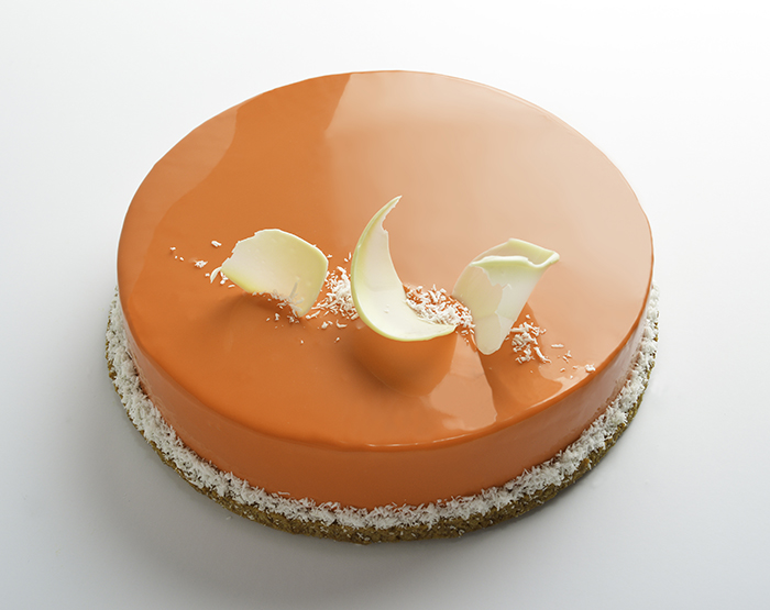 carrot cream cheese entremet