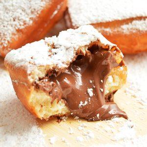nutella beignet
