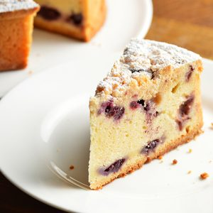 updated video recipe: blueberry coffee cake