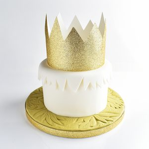 banana cream birthday cake